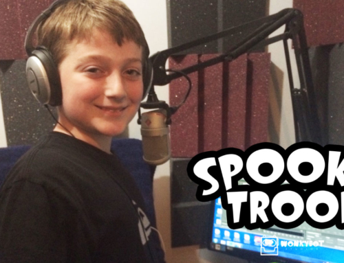 Wonkybot Studios Casts Max Kazanjian as Michael the Monster in 'Spooky Troop'