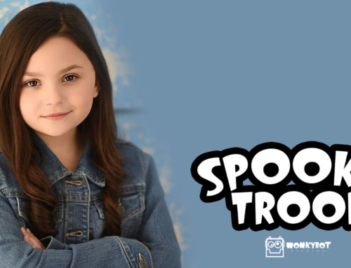 Ramsey Whitney Brings Life And Song to Zianna The Zombie in Wonkybot's 'Spooky Troop'