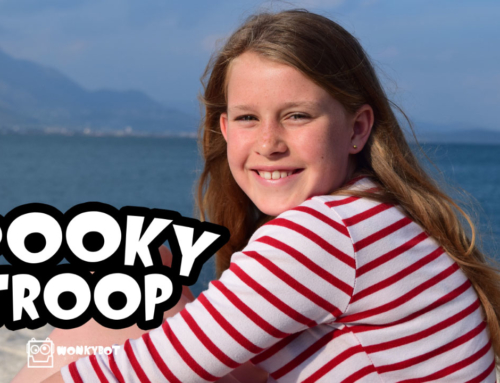 Wonkybot Casts Rebecca King as Delilah The Demon in 'Spooky Troop'