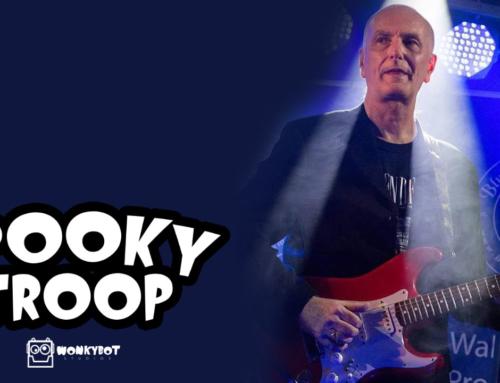 Wonkybot Studios Casts British Bluesman Trevor Sewell In 'Spooky Troop'