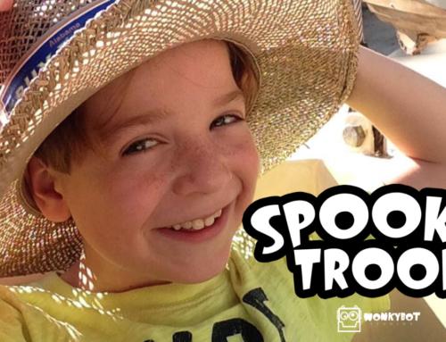 Wonkybot Casts William Abernathy as Willie The Werewolf in 'Spooky Troop'