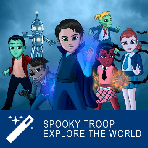 Spooky Troop - Explore The World