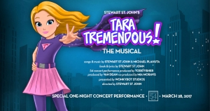 Tara Tremendous The Musical Branded Page