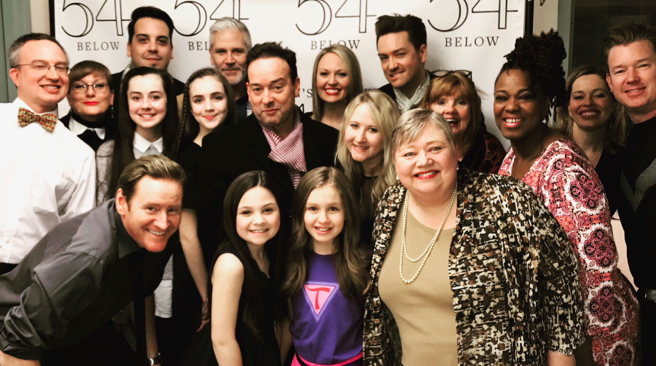 Tara Tremendous The Musical - Feinstein's 54 Below Cast
