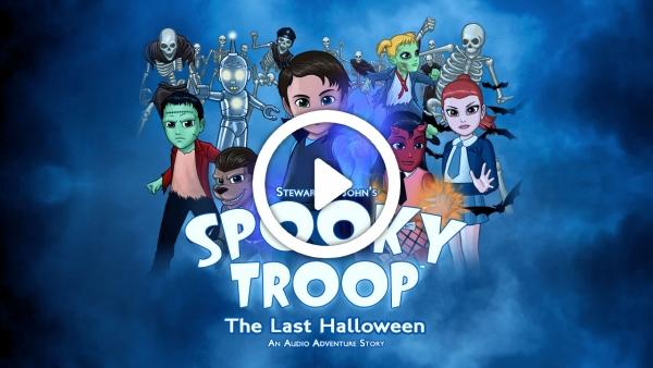Wonkybot Studios Releases 'Spooky Troop - The Last Halloween' Audio Adventure And Album Promo