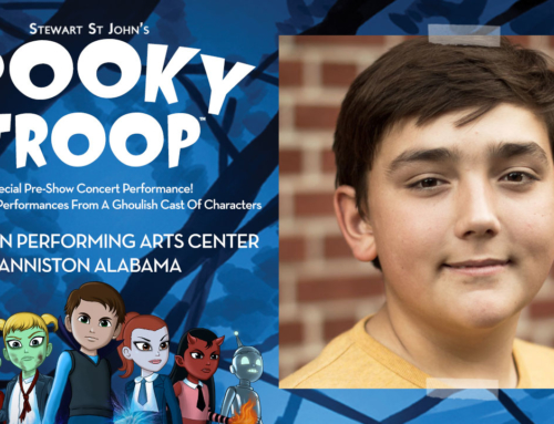Spooky Troop Musical Casts Sawyer Shealy As 'Michael The Monster'