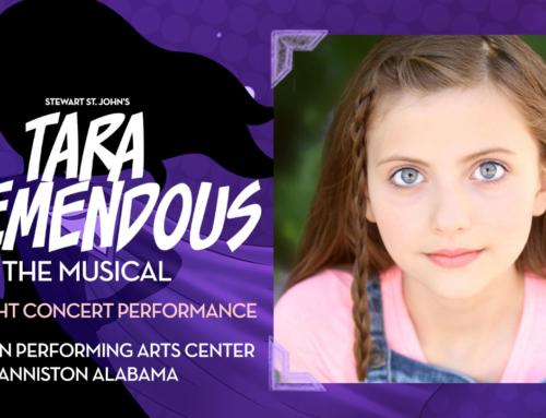 Kaylin Hedges Cast As 'Tara Tremendous' In Tara Tremendous The Musical Concert